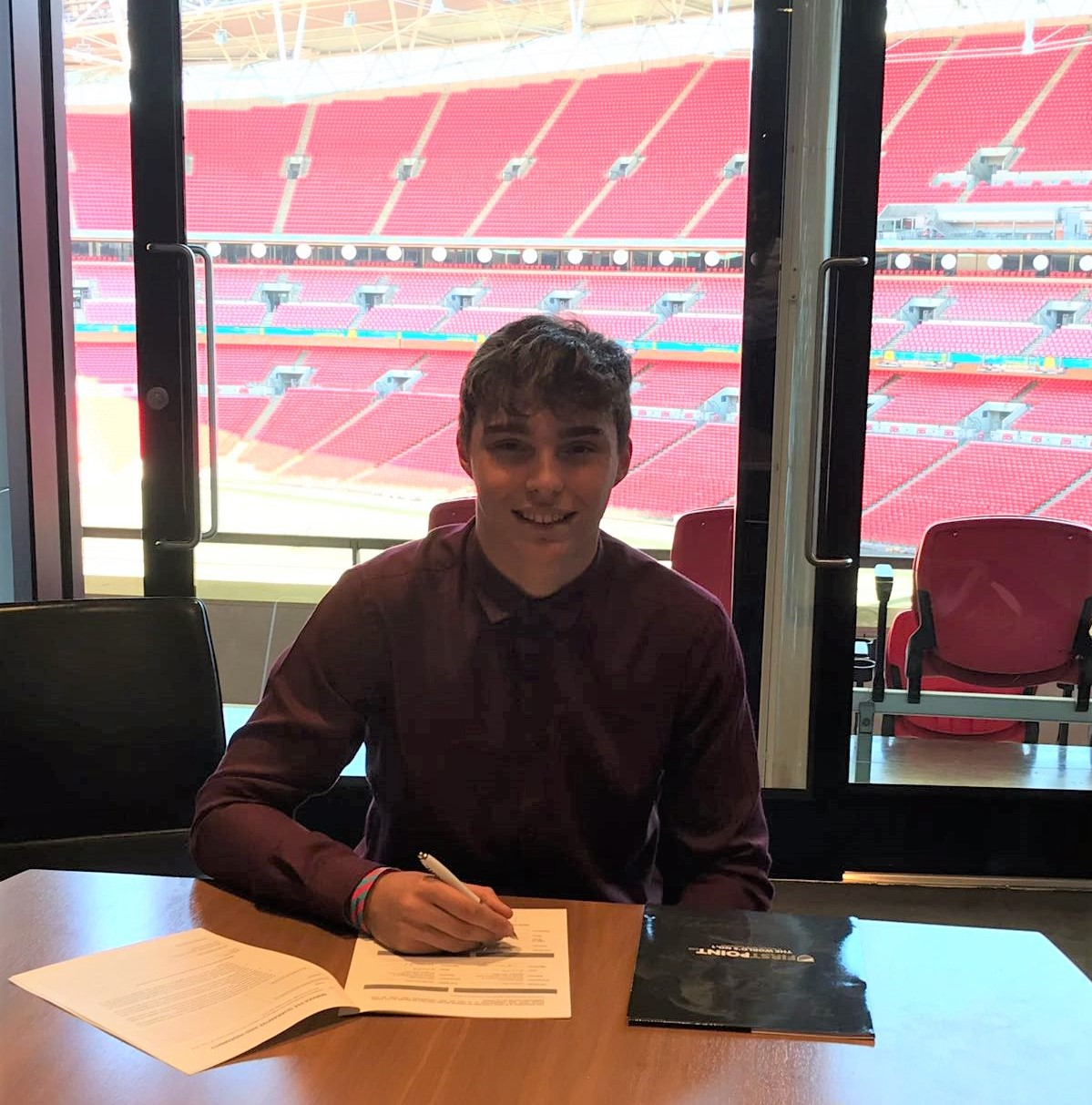 Ralph Slaney - Wembley Stadium, Signing with FirstPoint USA