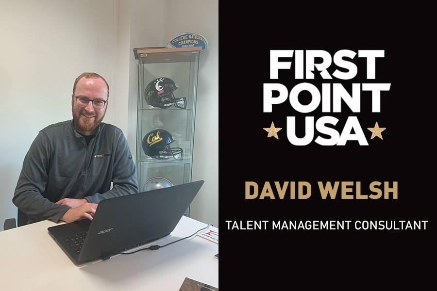 WELCOME TO THE TEAM | DAVID WELSH